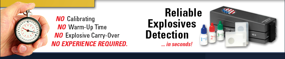 XD-2i Explosives Trace Detector, Portable Explosives Detector